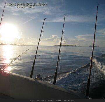 小笠原でのジギングの事ならお任せ下さい。POCO FISHING STUDIO